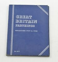 1937 1955   GREAT BRITAIN FARTHINGS   COLLECTION SET LOT ALB