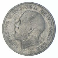 ROUGHLY SIZE OF QUARTER 1920 GREAT BRITAIN 1 SHILLING WORLD