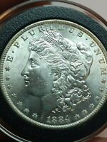 1884-O MORGAN WELL STRUCK SILVER ONE DOLLAR $1 COIN