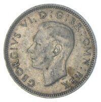 ROUGHLY SIZE OF QUARTER 1944 GREAT BRITAIN 1 SHILLING WORLD