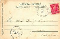 FRANKTOWN NEVADA 1907 DPO POSTCARD WASHOE COUNTY POSTED TO V