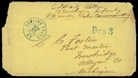 1862 BOWLING GREEN KY CIVIL WAR 13TH MICHIGAN SOLDIERS LETTE