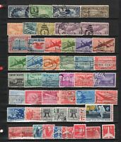 USA COLLECTION OF AIR MAIL STAMPS FROM 1925    4410