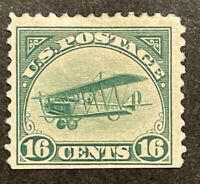 TDSTAMPS: US AIRMAIL STAMPS SCOTTC2 MINT H OG TINY THIN