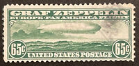 TDSTAMPS: US AIRMAIL STAMPS SCOTTC13 USED CORNER LIGHTLY CRE