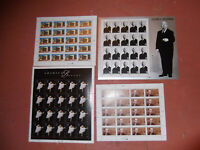 140  32 CENT STAMPS $44.80 FACE VALUE LARGE  SIZE SHEETS