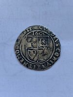 JAMES I SIXPENCE SILVER HAMMERED COIN DATED 1605