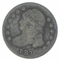 EARLY   1810S   CAPPED BUST DIME   EAGLE REVERSE   TOUGH   US TYPE COIN  463