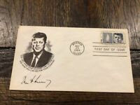 STAMPS USA  1246. 5C. KENNEDY  1917 73  MEMORIAL. FDC. 1964
