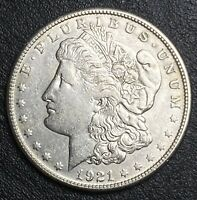 1921-S MORGAN SILVER DOLLAR LAST YEAR OF ISSUE GREAT LUSTER