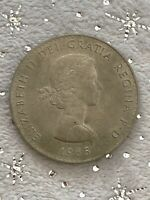 1965 CROWN COIN ISSUED TO COMMEMORATE THE DEATH OF SIR WINST
