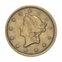 $1 UNITED STATES GOLD COIN   1851 $1 LIBERTY HEAD   HISTORIC