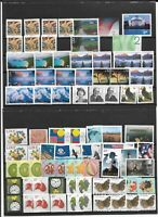 USA UNFRANKED NO GUM STAMPS. VALUE $ 50.00.  POSTAGE STAMPS