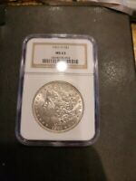 1901-O $1 MORGAN SILVER DOLLAR MINT STATE 63 NGC MINT STATE 63