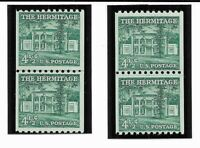 STAMPS US COIL JOINT LINE PAIR 1059  REDUCED