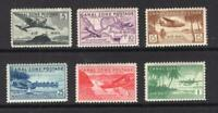 CANAL ZONE 1939 AIR MAIL SET   OG MNH    SC C15 C20   CATS $