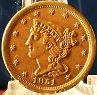 1851 BRAIDED HAIR HALF CENT, EXCEPTIONAL COIN, EXCELLENT DETAIL, SLAB THIS ONE