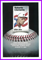 ROBERTO CLEMENTE FIRST DAY CEREMONY PROGRAM IN PUERTO RICO F