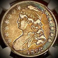 1832 CAPPED BUST HALF DOLLAR NGC VF 30  CIRCULATED COIN