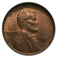 1931-S LINCOLN CENT MINT STATE 64 NGC BROWN - SKU239098
