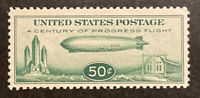 TDSTAMPS: US AIRMAIL STAMPS SCOTTC18 MINT NH OG TINY GUM DIS