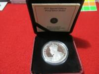 2011 CANADA $1 PROOF SILVER COIN