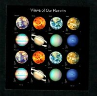 5069 5076 MNH VIEWS OF OUR PLANETS FOREVER SHEET. FV $8.80