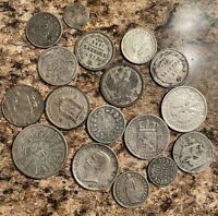 17 1800S & 1900S SILVER COINS IN THIS COLLECTION .99 CENT ST