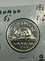 1988 CANADA UNCIRCULATED 5 CENT FOREIGN COIN 0770