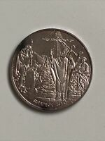 1973 ST. PATRICK'S DAY COMMEMORATIVE MEDAL IRELAND CELTIC SILVER COIN