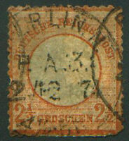 1872 GERMANY 19   EAGLE AND LARGE SHIELD  USED