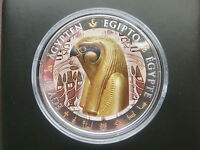 FIJI 2012 HORUS EGYPT ONLY 999 MADE  $1 SILVER PROOF COIN