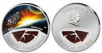 JILIN METEORITE SILVER COIN  $10 FIJI ONLY 999 MADE  COSMIC FIREBALLS CHINA