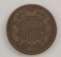 1872 TWO-CENT PIECE /G3410