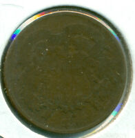 1868 TWO CENT PIECE, JUST MISSES GOOD, GREAT PRICE