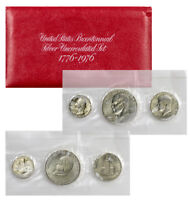 1976 SILVER 3 COIN UNITED STATES US MINT UNCIRCULATED BICENTENNIAL SET SKU1384