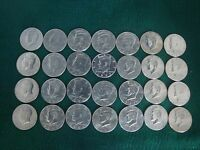 KENNEDY HALF DOLLARS 1971 2001 COMPLETE STARTER SET 1988 2001P&D GIFTS CIRC