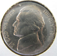 1946 P,D,S JEFFERSON NICKEL BRILLIANT UNCIRCULATED