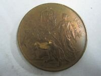 UNIVERSAL EXHIBITION OF LIEGE 1905 / 1830 1905 BRONZE MEDAL
