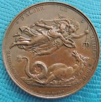 FRENCH COPPER MEDAL