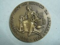 200 YEARS OF THE NATIONAL ROPEYARD FACTORY 1774/1974 PORTUGAL BRONZE MEDAL