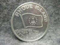 RHODE ISLAND LITTLE RHODY 13TH STATE MAY 29 1790 ALUMINUM TOKEN COIN VIOLET 1.5