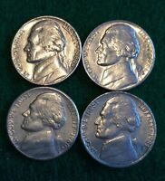 1980 P D & 1981 P D JEFFERSON NICKELS CIRCULATED