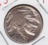 1935 BUFFALO NICKEL IN FINE CONDITION STK B62