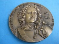 PRIVATEER CELEBRATED DUGUAN TROUIN 1673/1736 BRONZE MEDAL