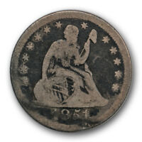 1851 O 25C LIBERTY SEATED QUARTER GOOD VG NEW ORLEANS R468
