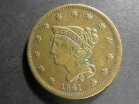 1841 BRAIDED HAIR CENT N 5 R 3