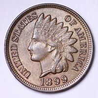 1899 INDIAN HEAD SMALL CENT CHOICE BU  E144 NH