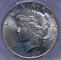 1927 S PEACE DOLLAR PCGS MS 62 AND CAC APPROVED MUCH BETTER DATE