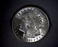 UNCIRCULATED 1921D MORGAN SILVER DOLLAR UNITED STATES COIN